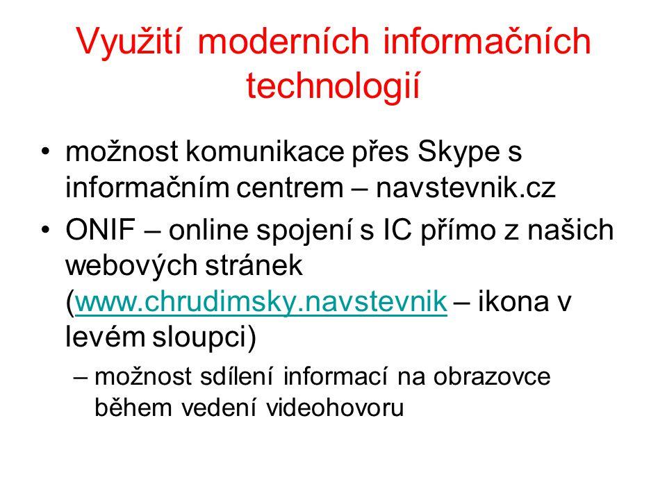 Využití moderních informačních technologií