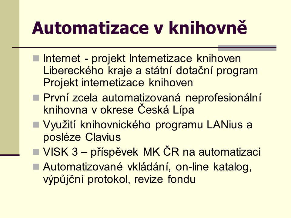 Automatizace v knihovně
