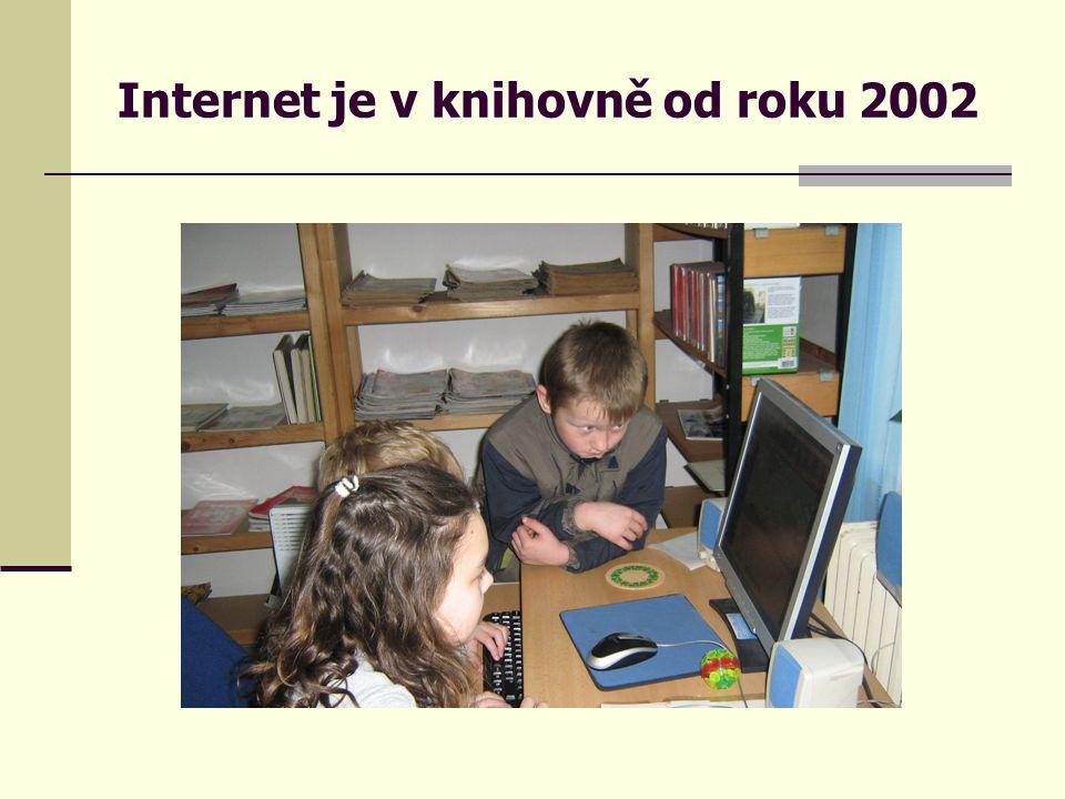 Internet je v knihovně od roku 2002