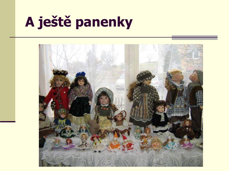 A ještě panenky