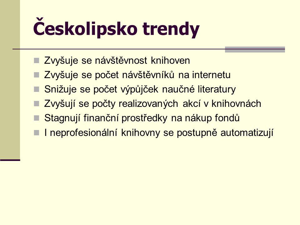 Českolipsko trendy Zvyšuje se návštěvnost knihoven