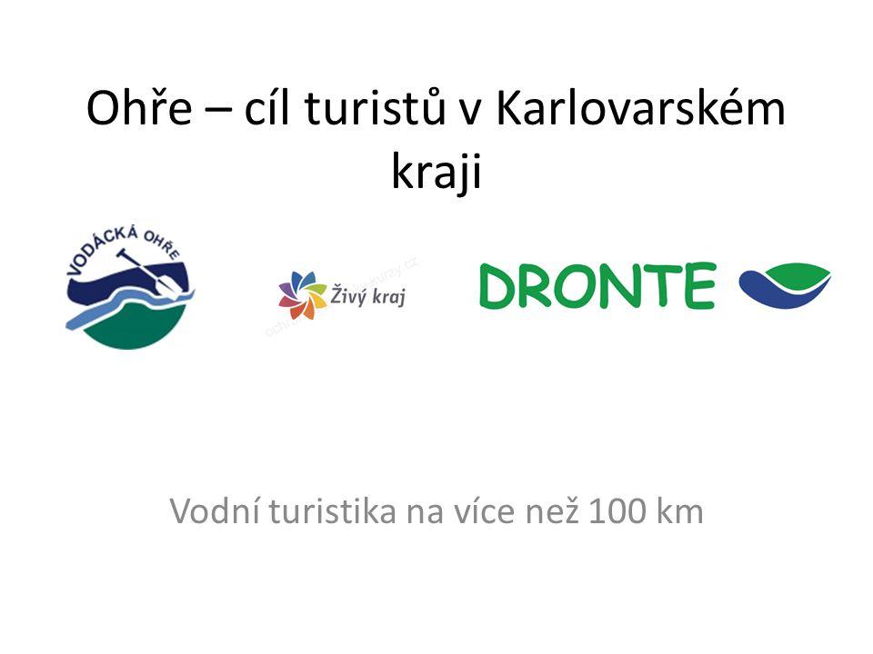 Ohře – cíl turistů v Karlovarském kraji