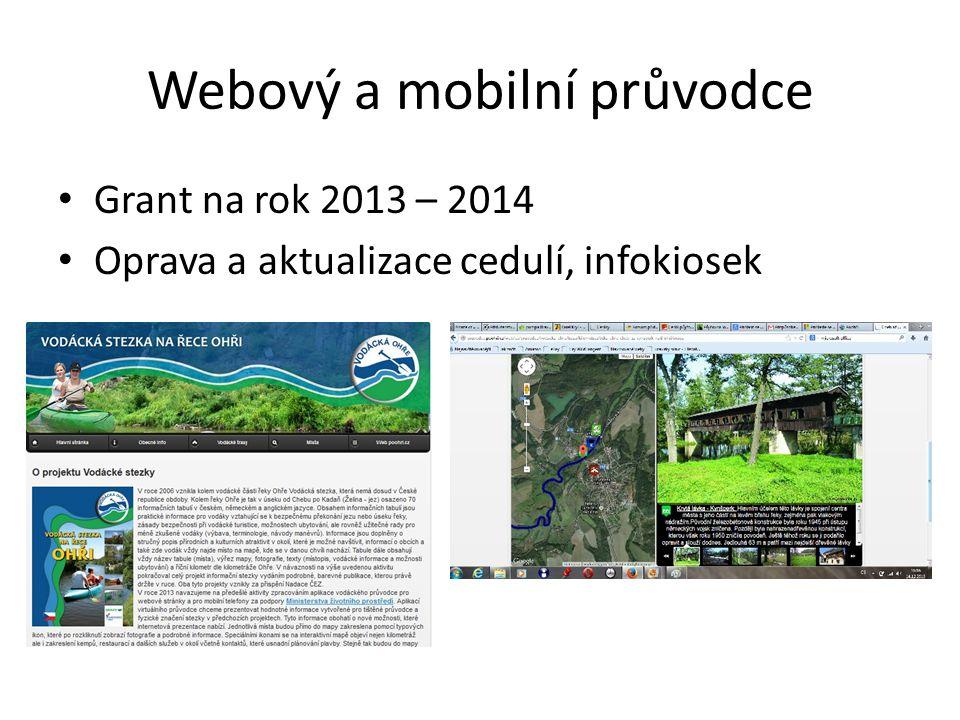 Webový a mobilní průvodce