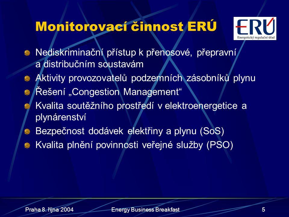 Monitorovací činnost ERÚ