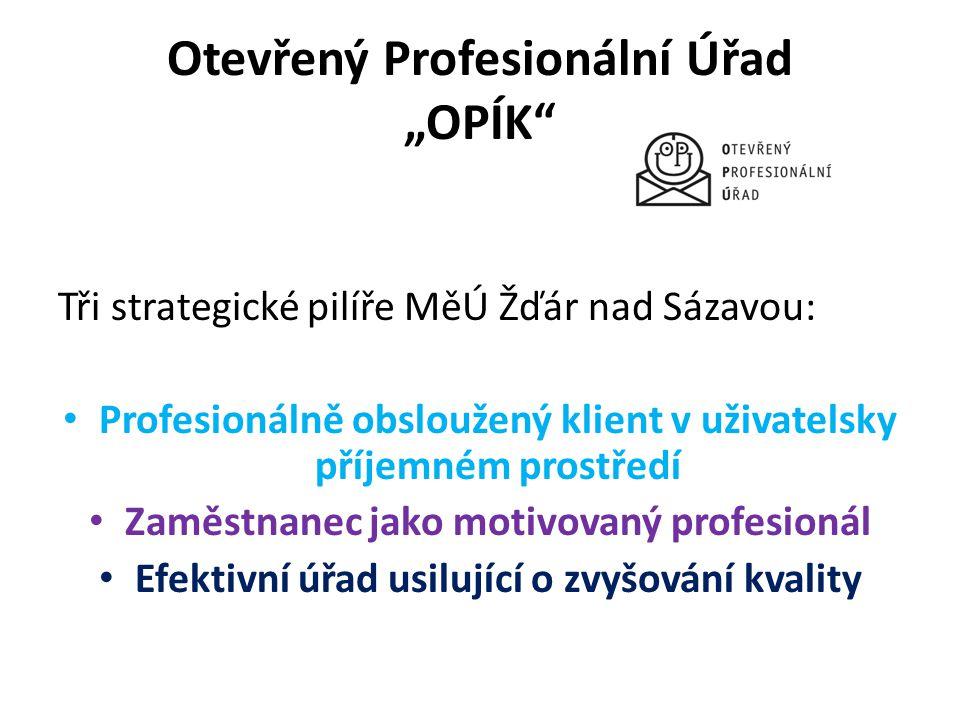 """Otevřený Profesionální Úřad """"OPÍK"""