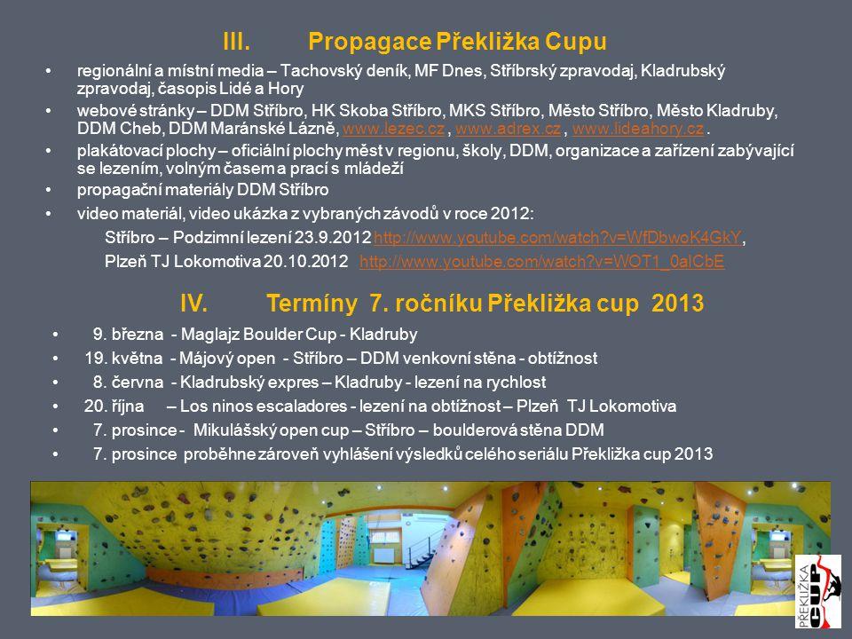 III. Propagace Překližka Cupu