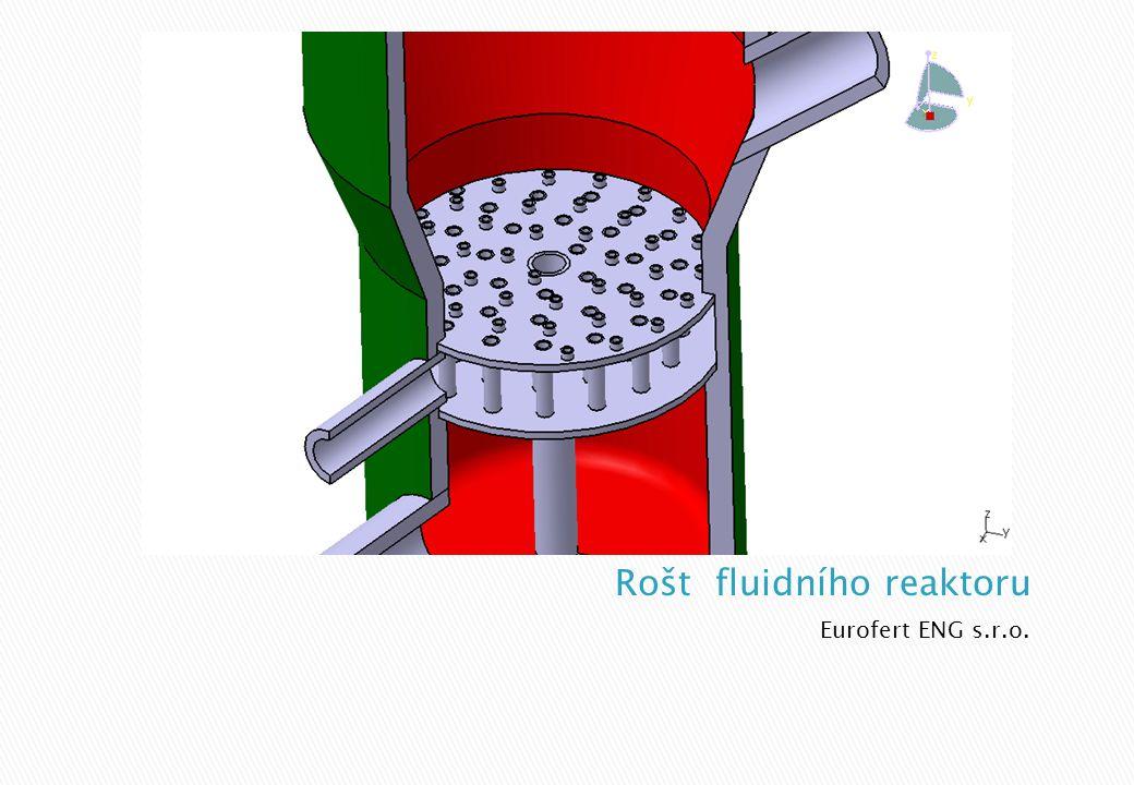 Rošt fluidního reaktoru