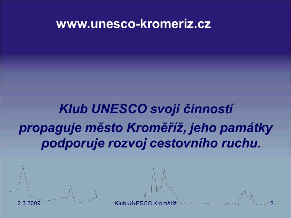Klub UNESCO svoji činností