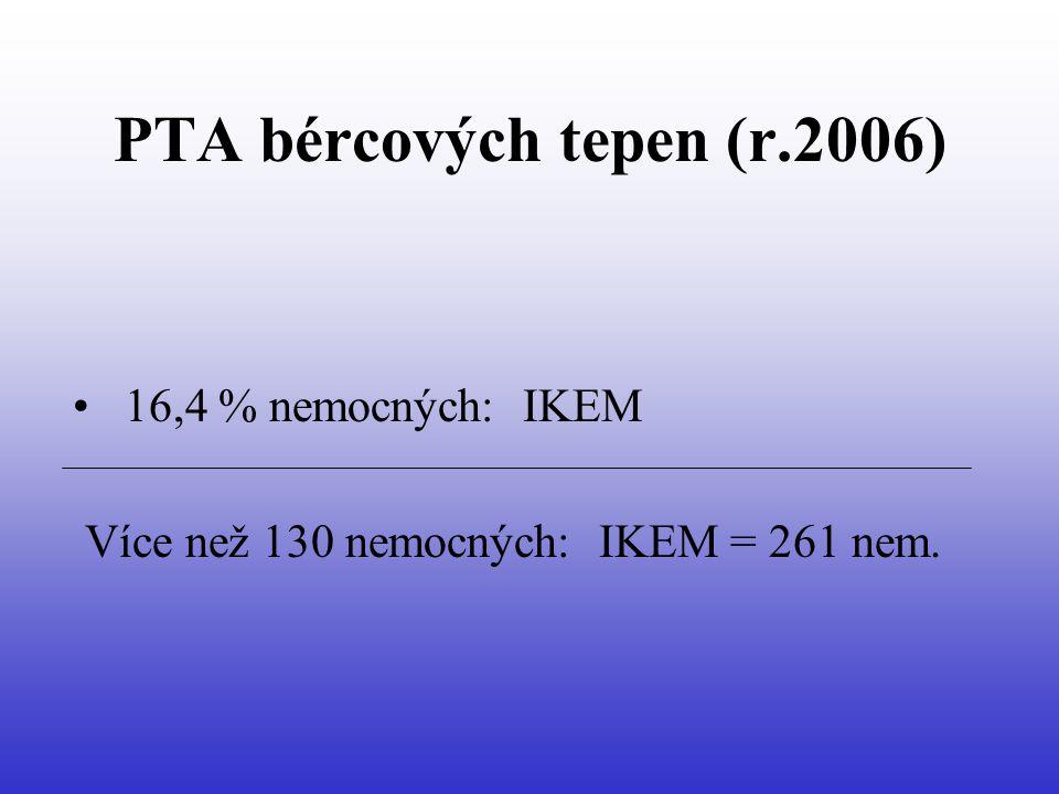 PTA bércových tepen (r.2006)