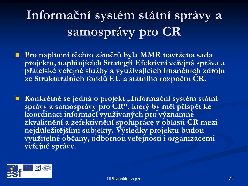 Informační systém státní správy a samosprávy pro CR
