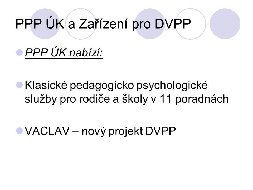 PPP ÚK a Zařízení pro DVPP