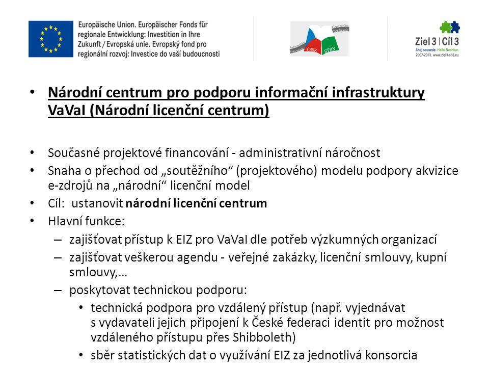 Národní centrum pro podporu informační infrastruktury VaVaI (Národní licenční centrum)
