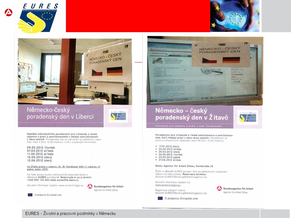 EURES - Životní a pracovní podmínky v Německu