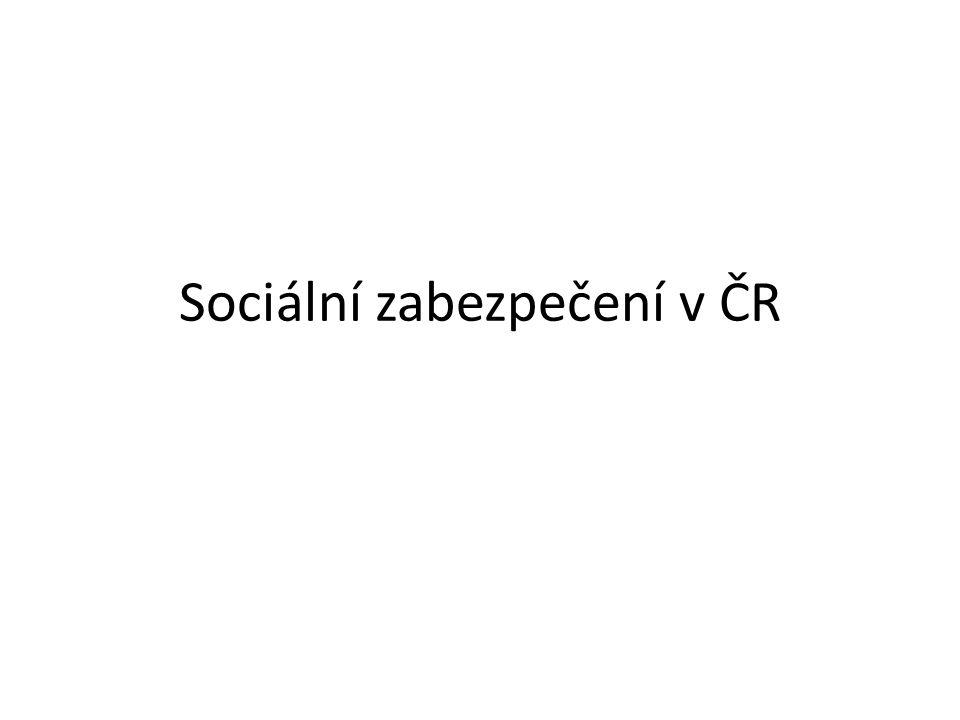 Sociální zabezpečení v ČR