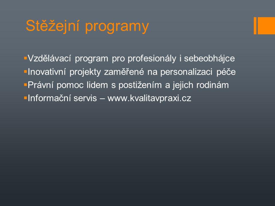 Stěžejní programy Vzdělávací program pro profesionály i sebeobhájce