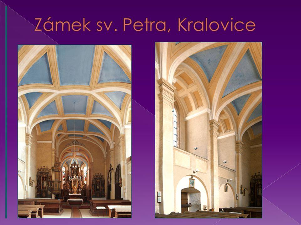 Zámek sv. Petra, Kralovice