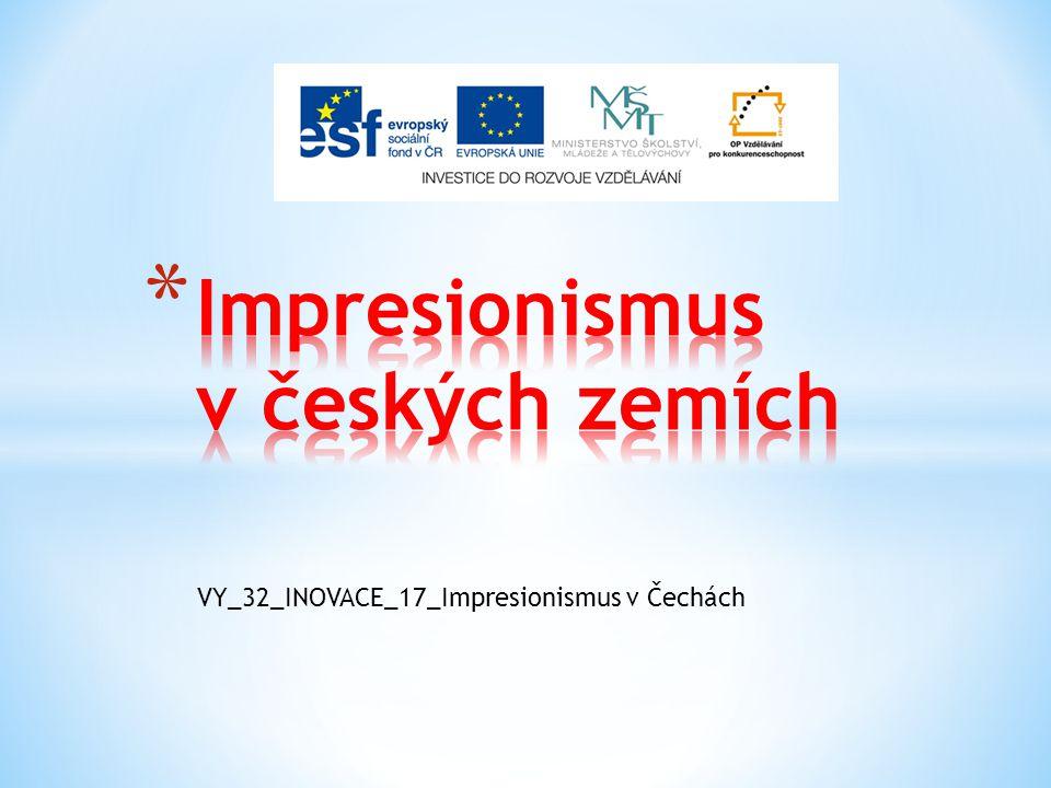 Impresionismus v českých zemích