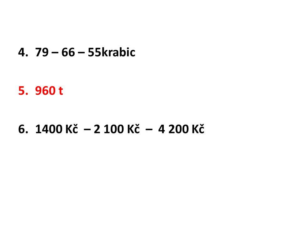 79 – 66 – 55krabic 960 t 1400 Kč – 2 100 Kč – 4 200 Kč