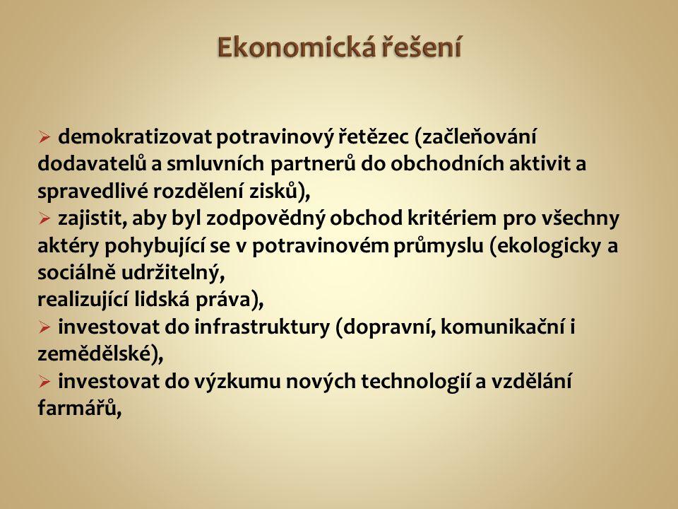 Ekonomická řešení