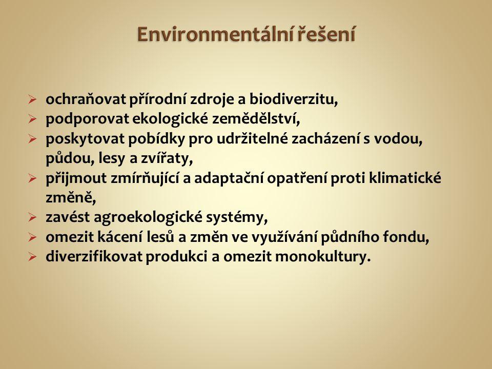 Environmentální řešení