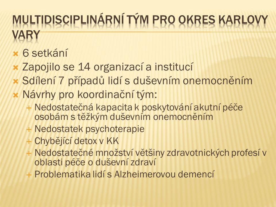 Multidisciplinární tým pro okres Karlovy Vary