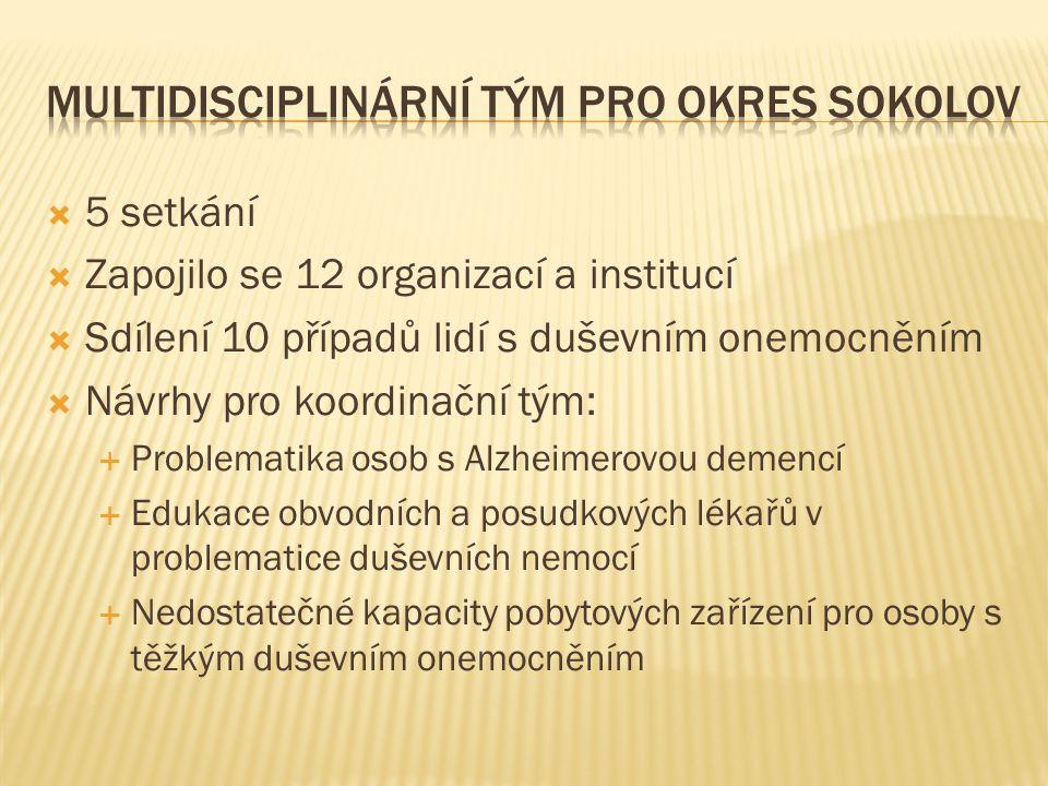 Multidisciplinární tým pro okres Sokolov