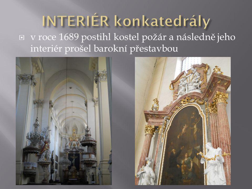 INTERIÉR konkatedrály