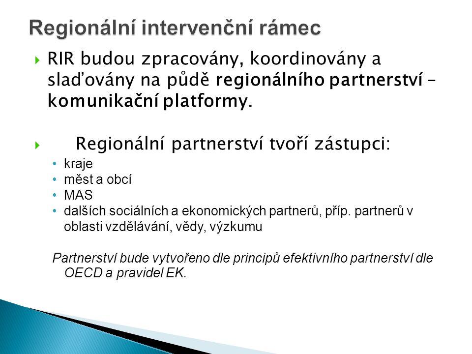 Regionální intervenční rámec