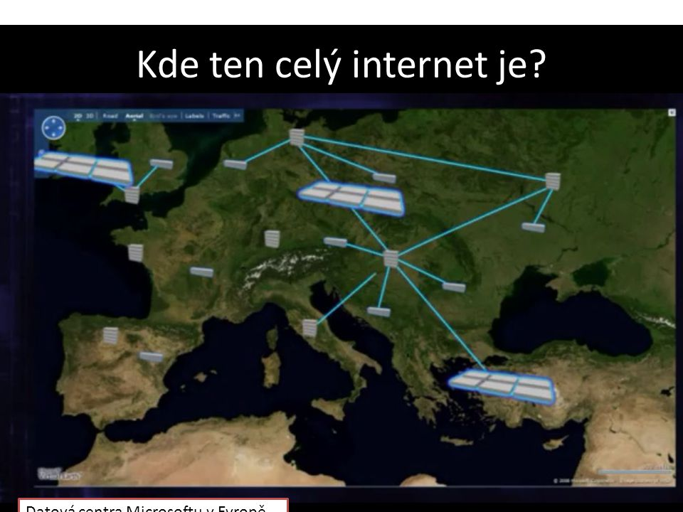 Kde ten celý internet je