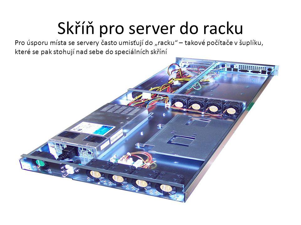 Skříň pro server do racku
