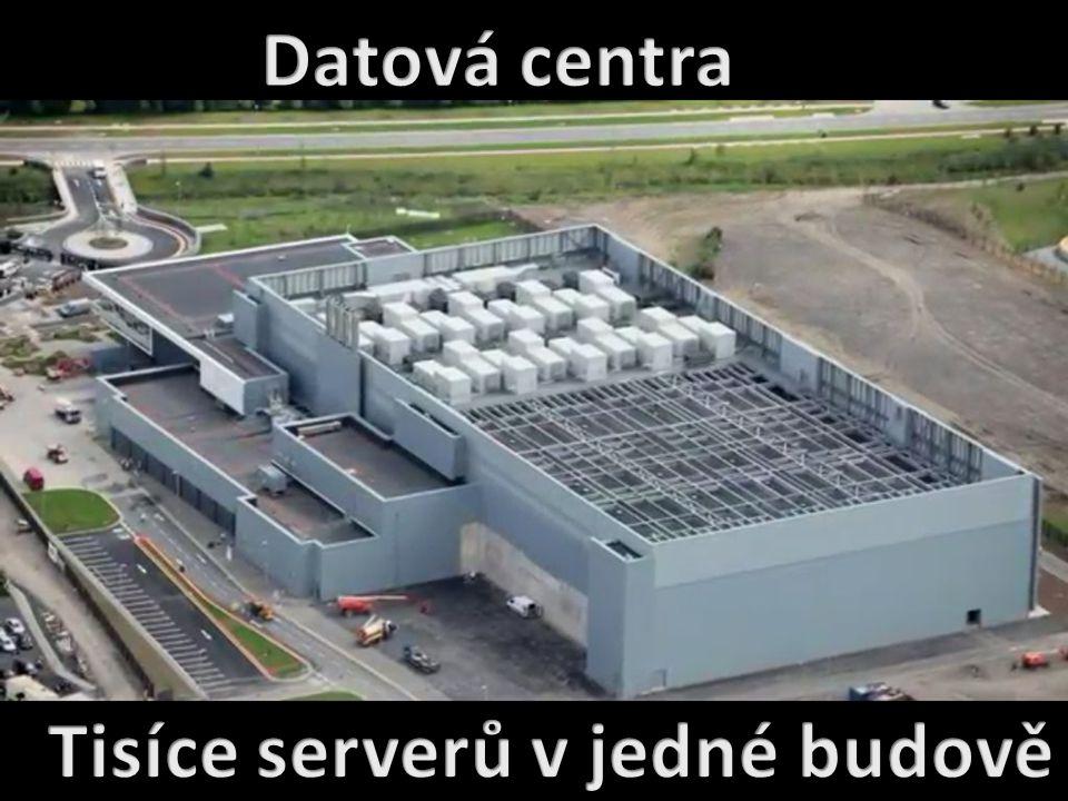 Tisíce serverů v jedné budově