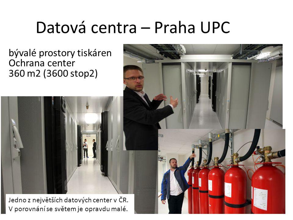Datová centra – Praha UPC
