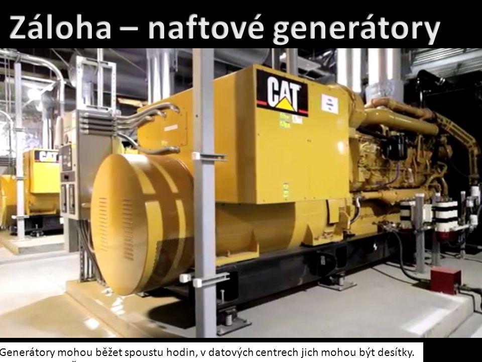 Záloha – naftové generátory