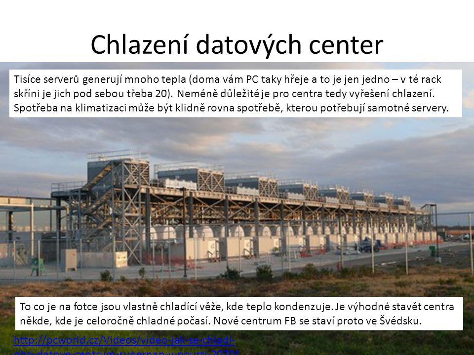 Chlazení datových center