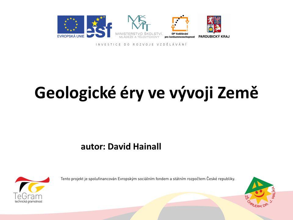 Geologické éry ve vývoji Země