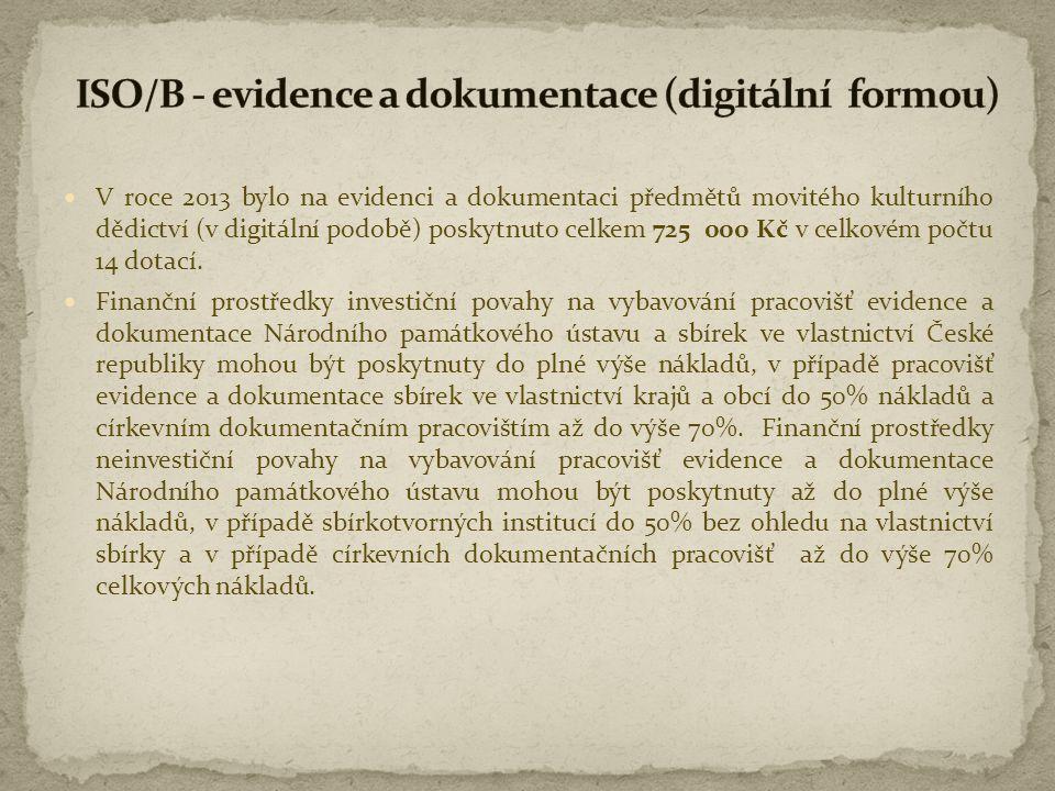 ISO/B - evidence a dokumentace (digitální formou)