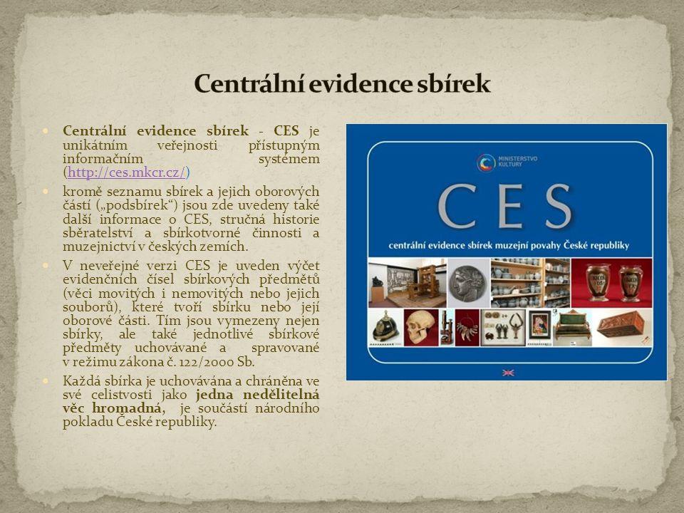 Centrální evidence sbírek