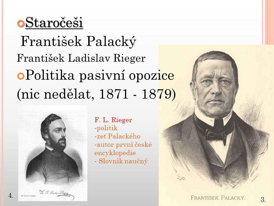 Politika pasivní opozice (nic nedělat, 1871 - 1879)