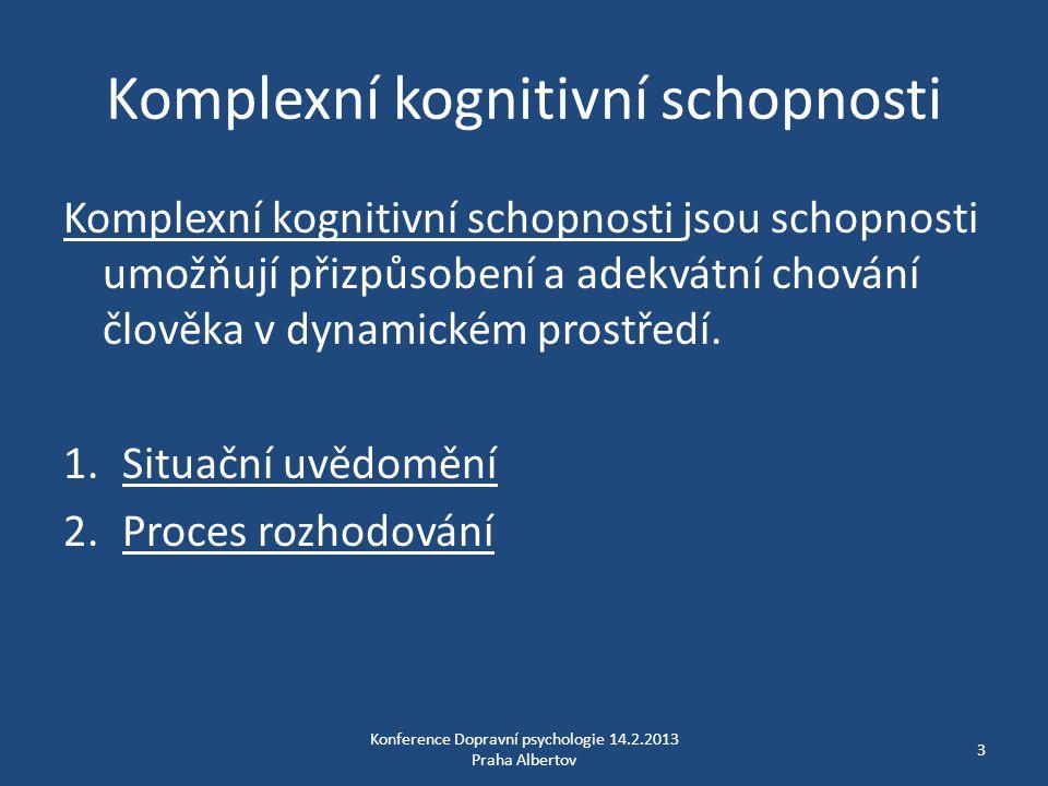 Komplexní kognitivní schopnosti