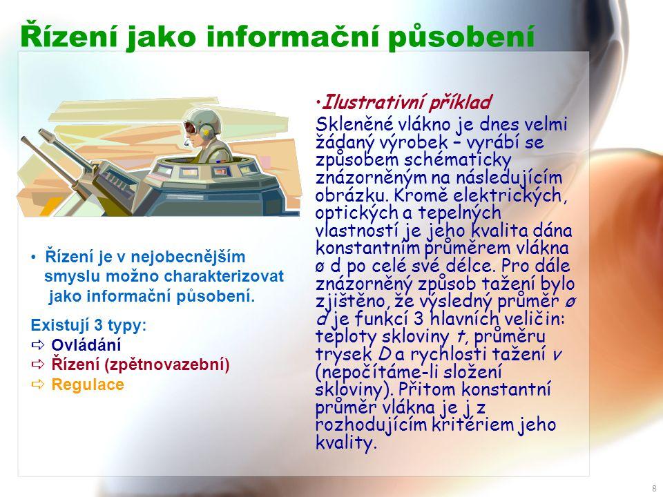 Řízení jako informační působení