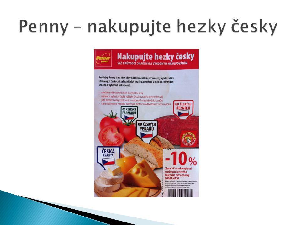 Penny – nakupujte hezky česky