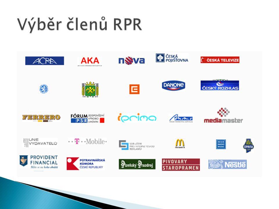 Výběr členů RPR