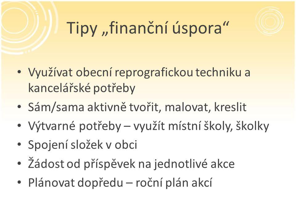 """Tipy """"finanční úspora"""