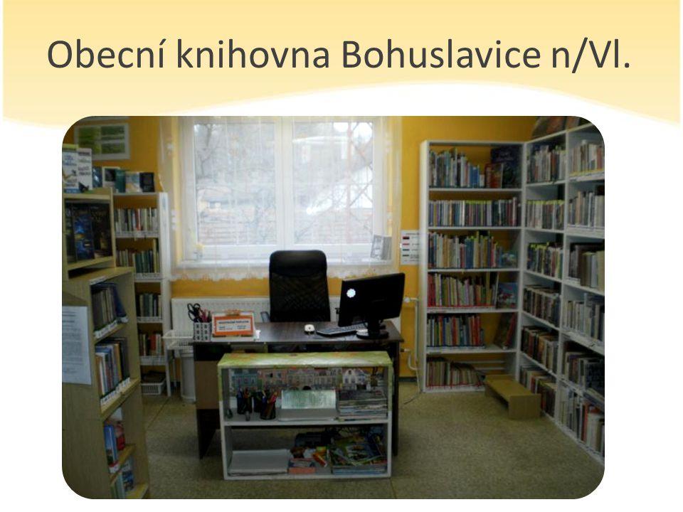 Obecní knihovna Bohuslavice n/Vl.