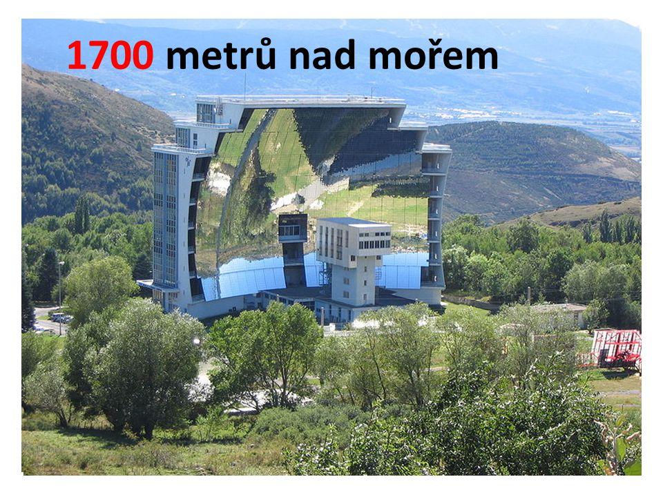 1700 metrů nad mořem 1700 metrů nad mořem