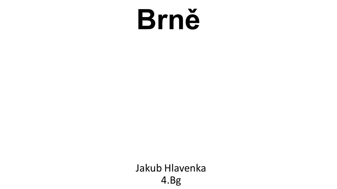 Turistické cíle v Brně Jakub Hlavenka 4.Bg