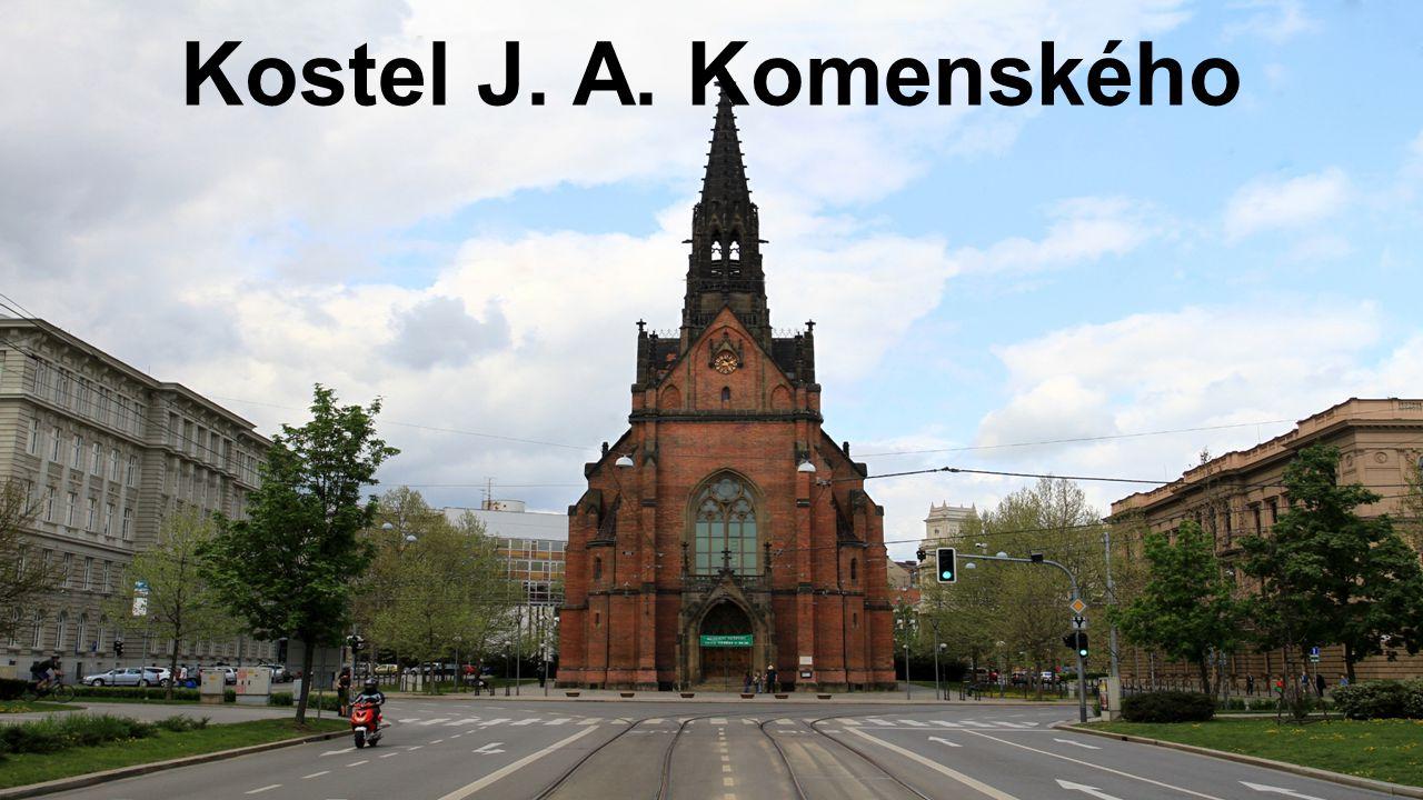 Kostel J. A. Komenského