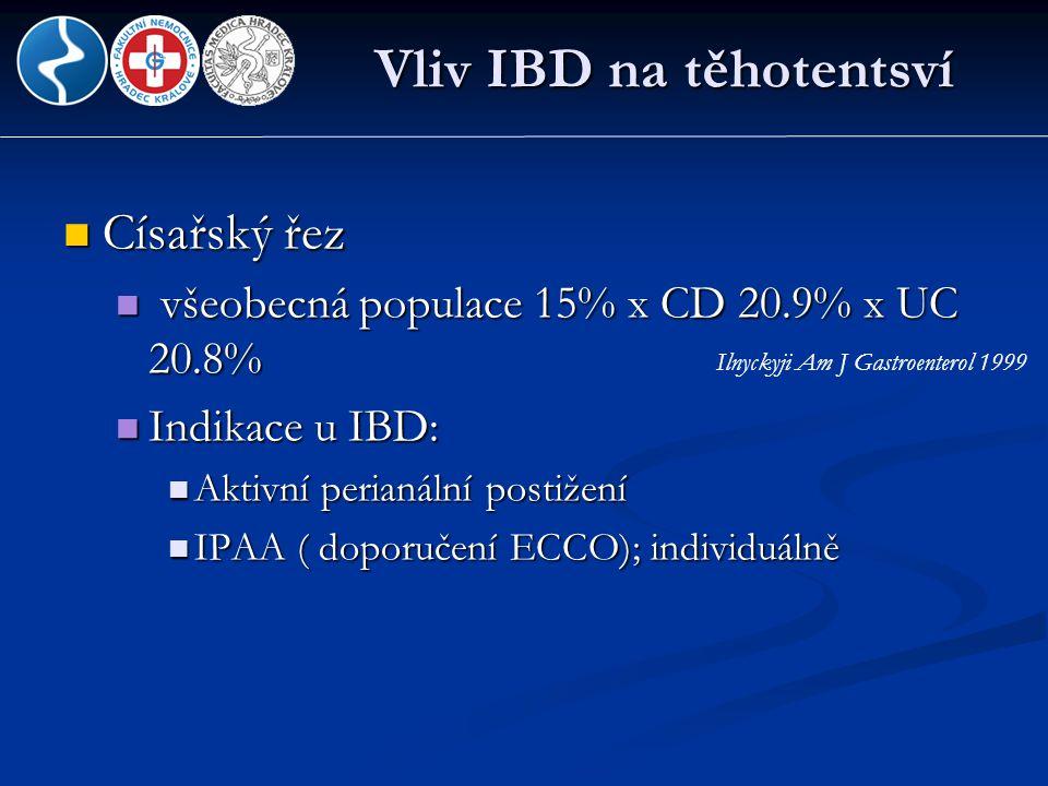 Vliv IBD na těhotentsví