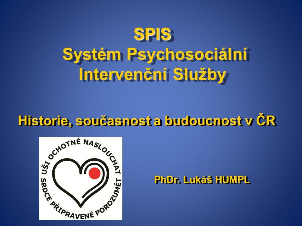 SPIS Systém Psychosociální Intervenční Služby
