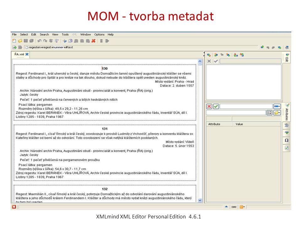 XMLmind XML Editor Personal Edition 4.6.1